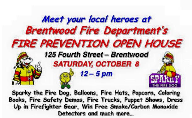 Brentwood FD Open House-October 8th, 2016