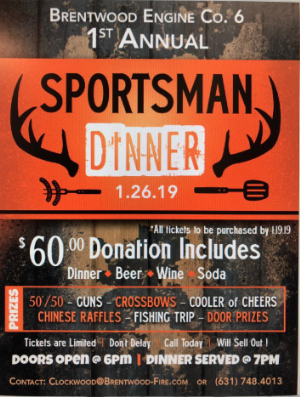 Company # 6 Sportsman's Dinner