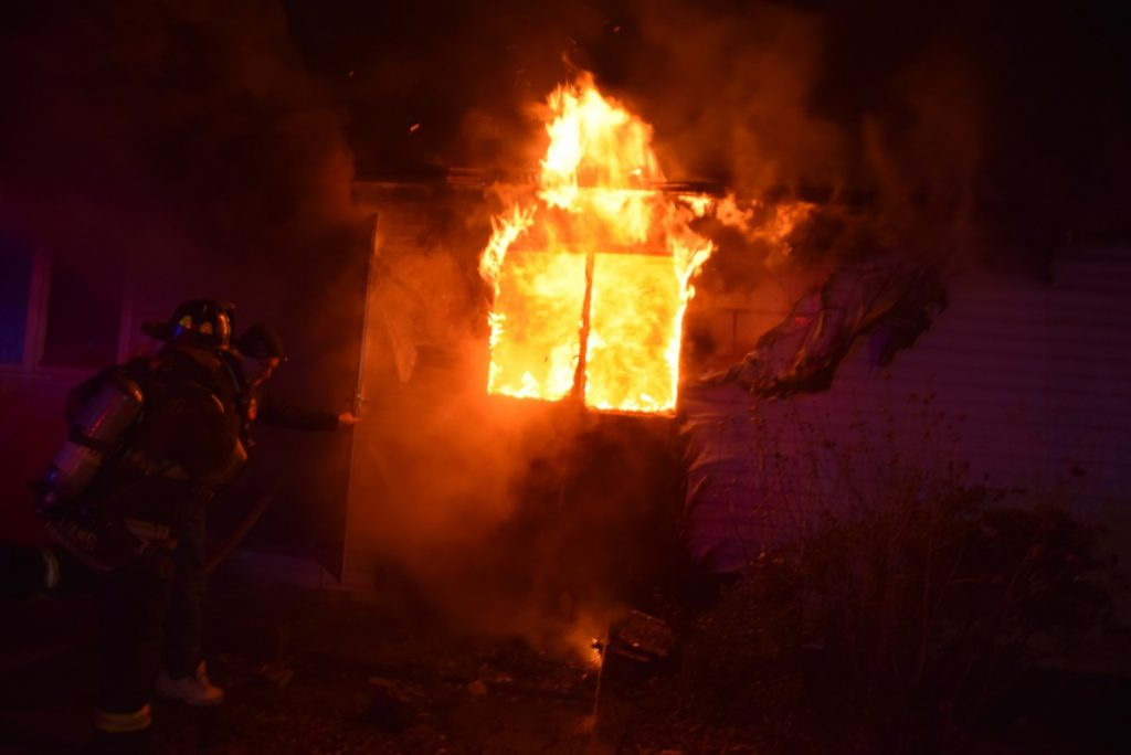 Structure Fire – 8 Garden City St – January 10th 2019