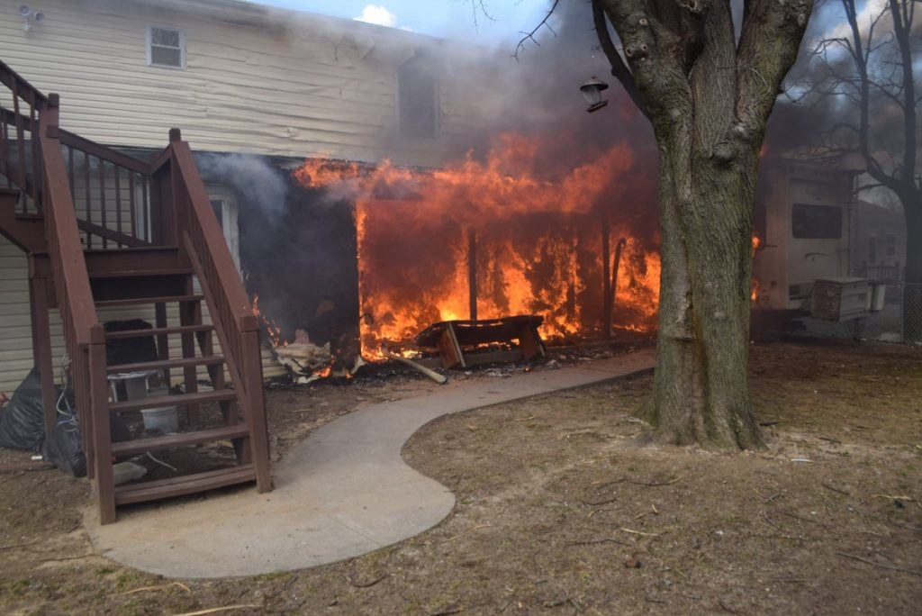 Another Structure Fire in Brentwood