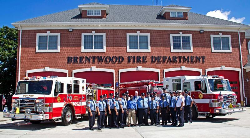 Brentwood Central Engine Company 5 Wetdown