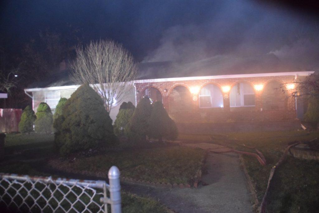 Structure fire at 47 Van Cedar St